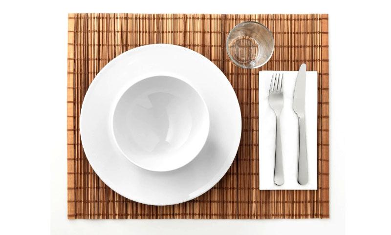 Подставка позволит создать во время ужина уют и комфорт