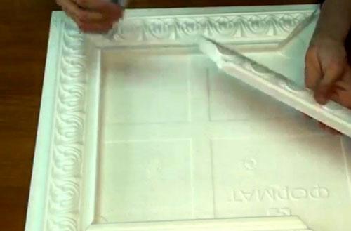 Рама для зеркала своими руками: особенности изготовления и декор
