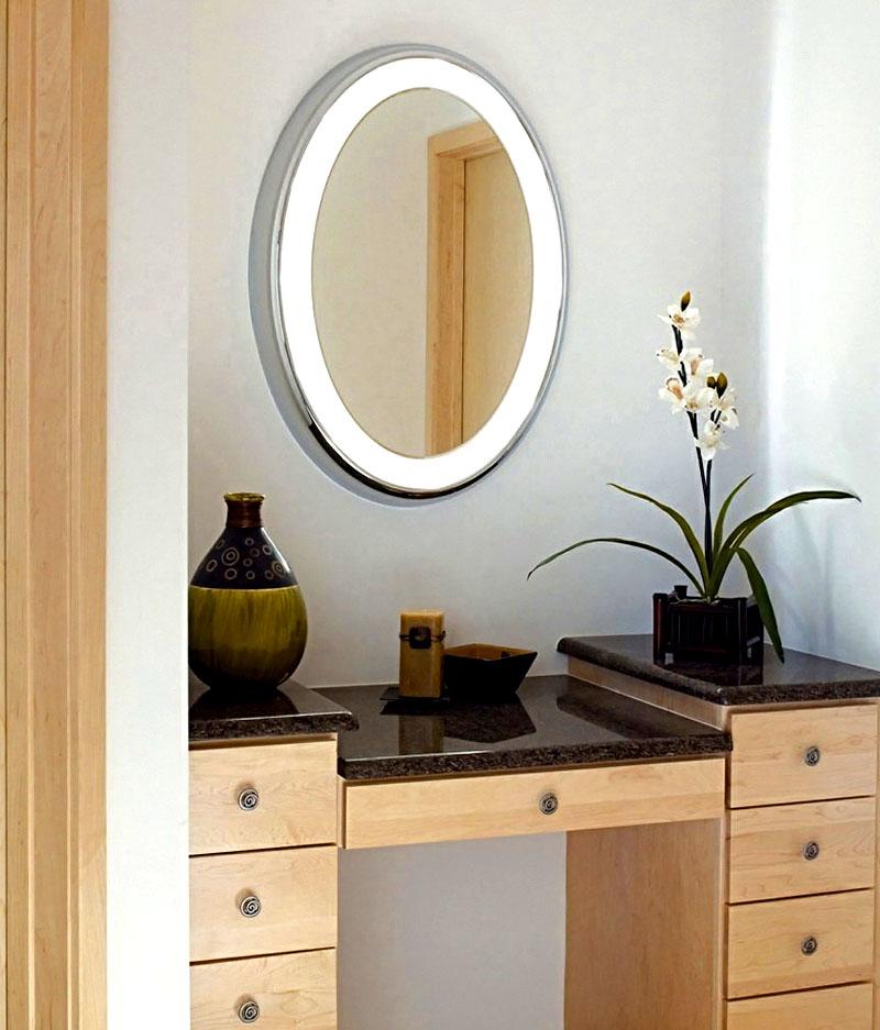 Изготовление рамки для зеркала с подсветкой