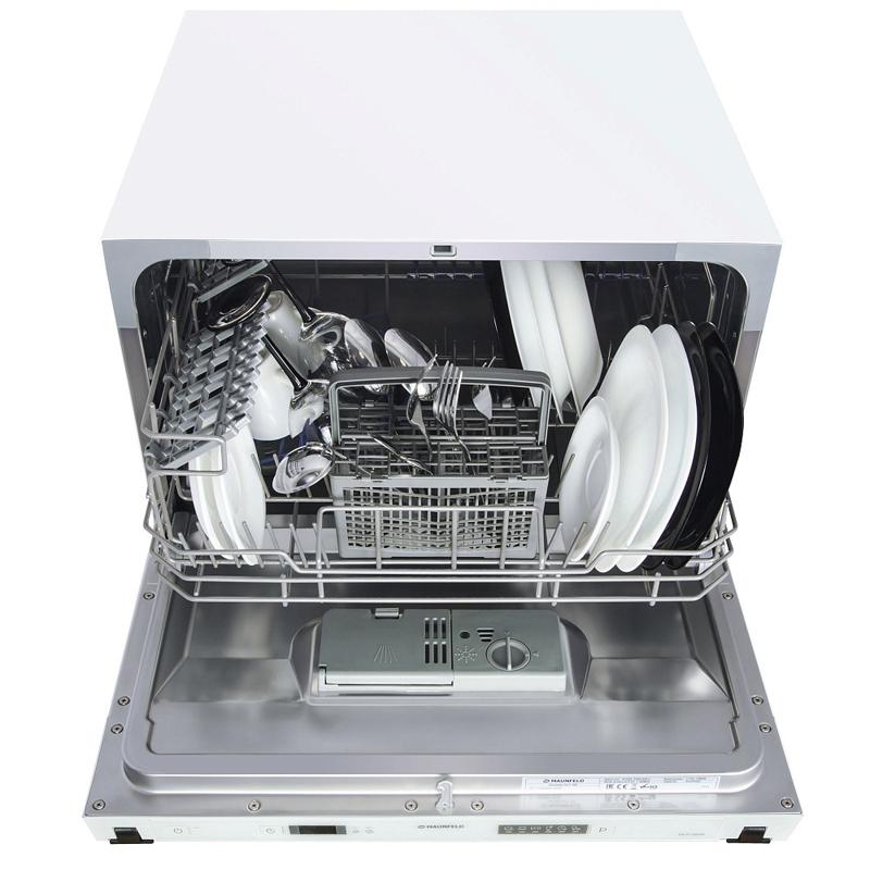 Турбосушка немного увеличивает стоимость модели, но зато практически мгновенно сушит вымытую посуду