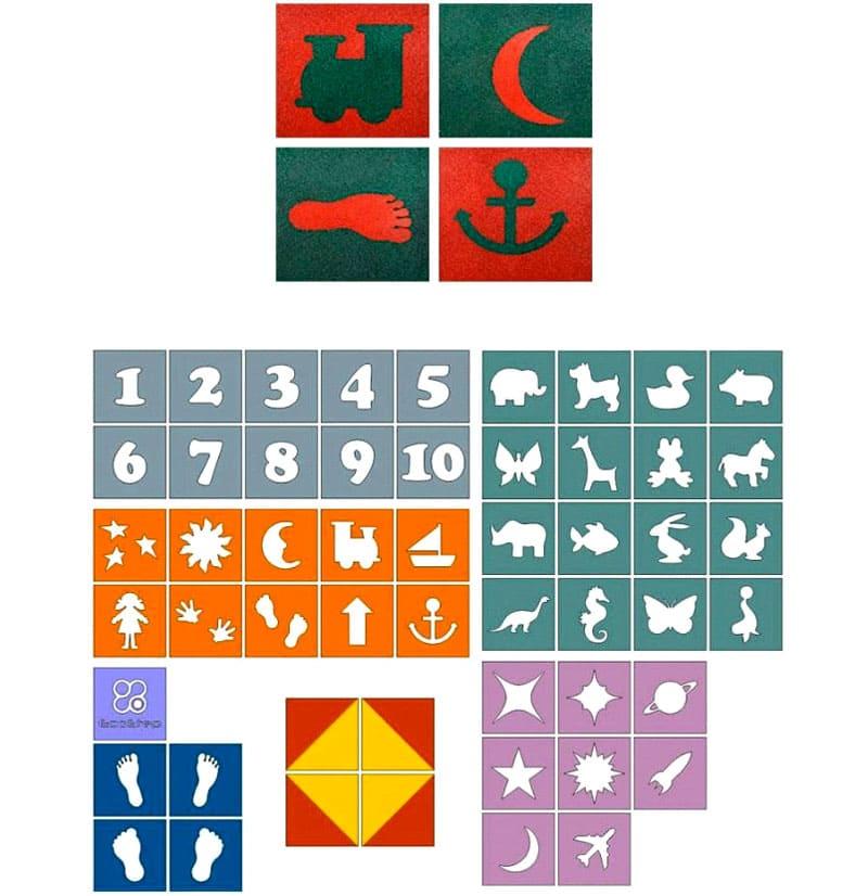 Варианты покрытия с рисунком EcoStep