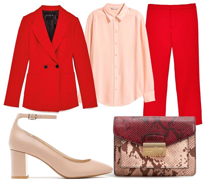 Идеальный вариант – яркий костюм из джерси. Женщина в таком образе обязательно привлечёт к себе внимание