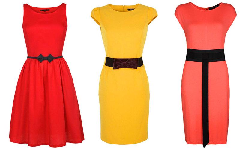 Платья из джерси могут быть очень яркими и разнообразными по форме и структуре