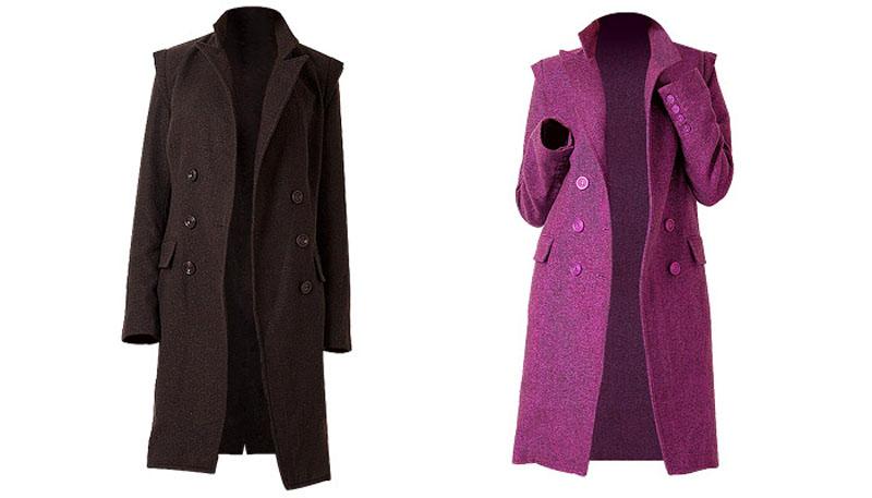 Перед тем, как надеть длинное пальто или платье из натуральной джерси, желательно обработать его антистатиком, поскольку ткань имеет свойство электризоваться