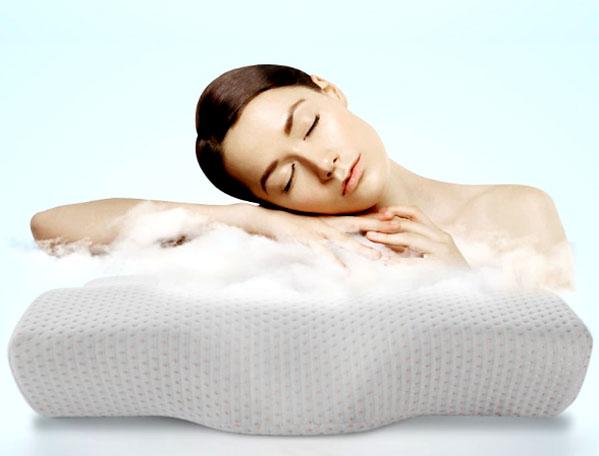 Инновационные материалы позволяют подушке повторить форму вашей шеи, создав поистине удобный вариант, подходящий именно вам
