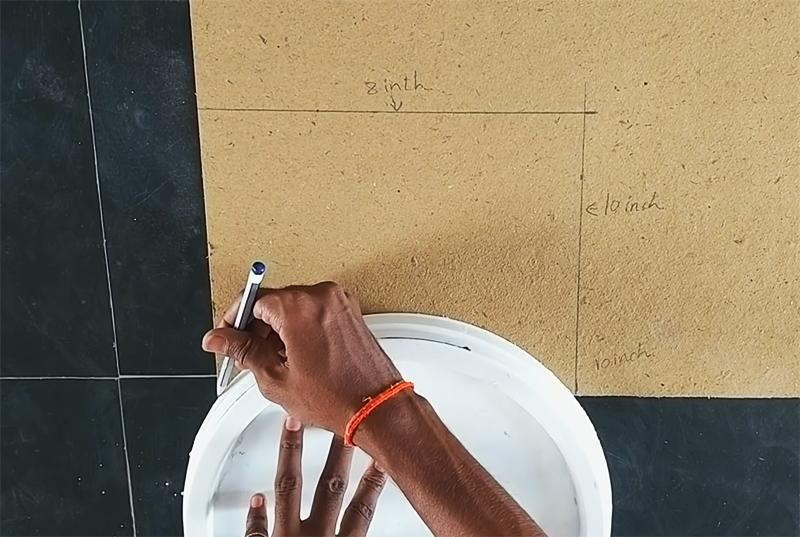 3D рисунок на стене своими руками