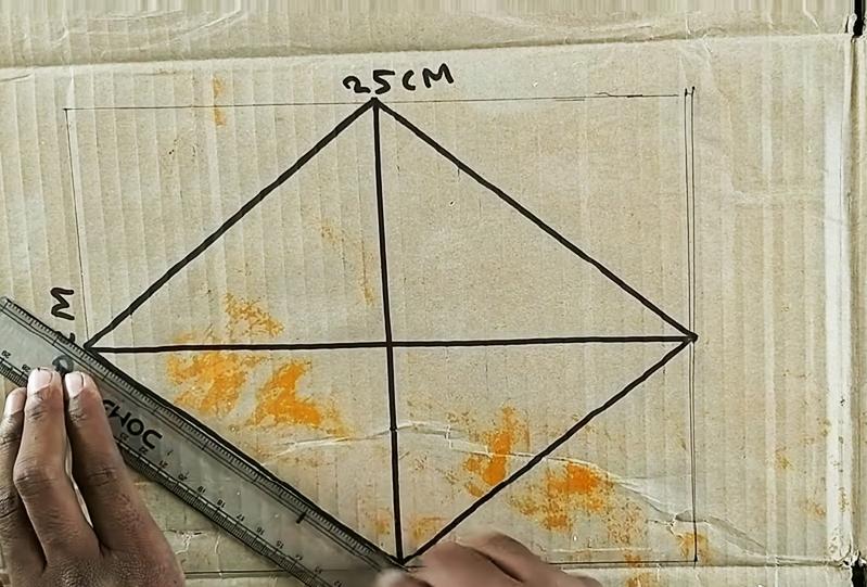 Этот рисунок требует шаблона в форме ромба