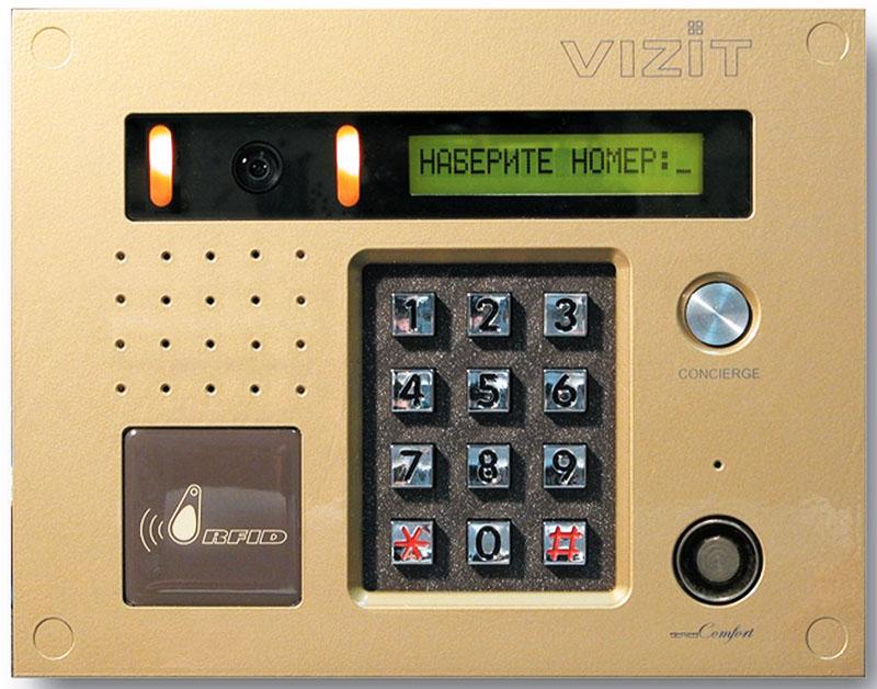 Модели домофонов Vizit могут встречаться самые разные: от ультрасовременных, до практически первых