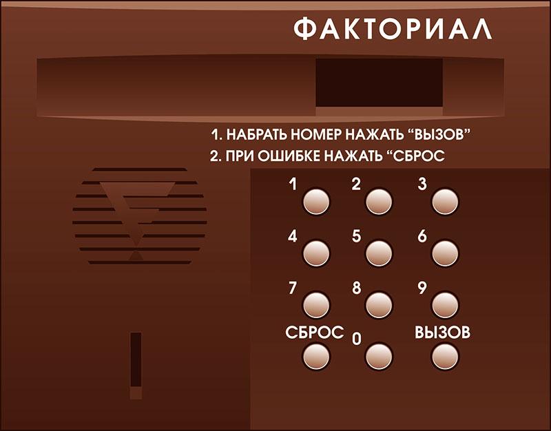 Практически все коды, с помощью которых открывается дверь, сервисные