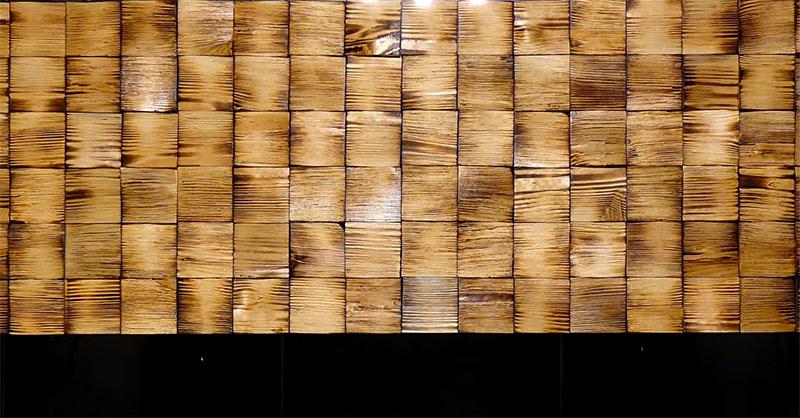 Все дощечки размещены так, что волокна расположены горизонтально