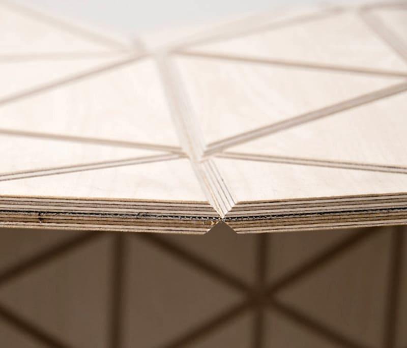 Структура сэндвич-панелей из фанеры