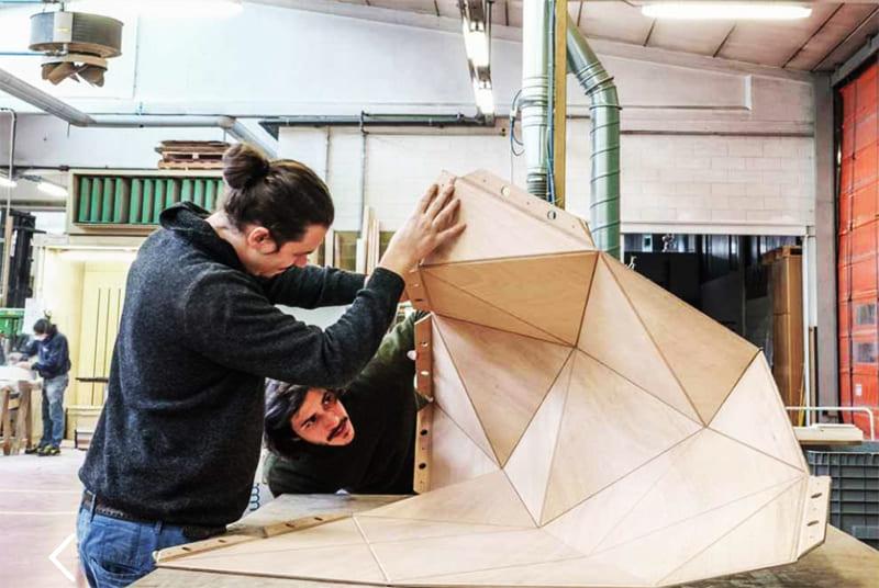 Конструкторы могут придать панелям любую архитектурную форму