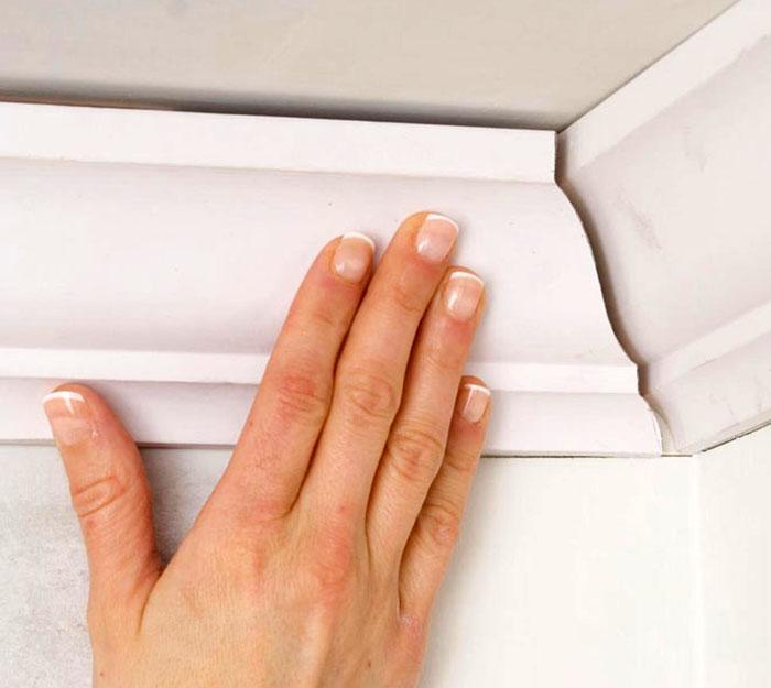 Бюджетный и красивый способ отделки квартиры – использование полиуретановых галтелей