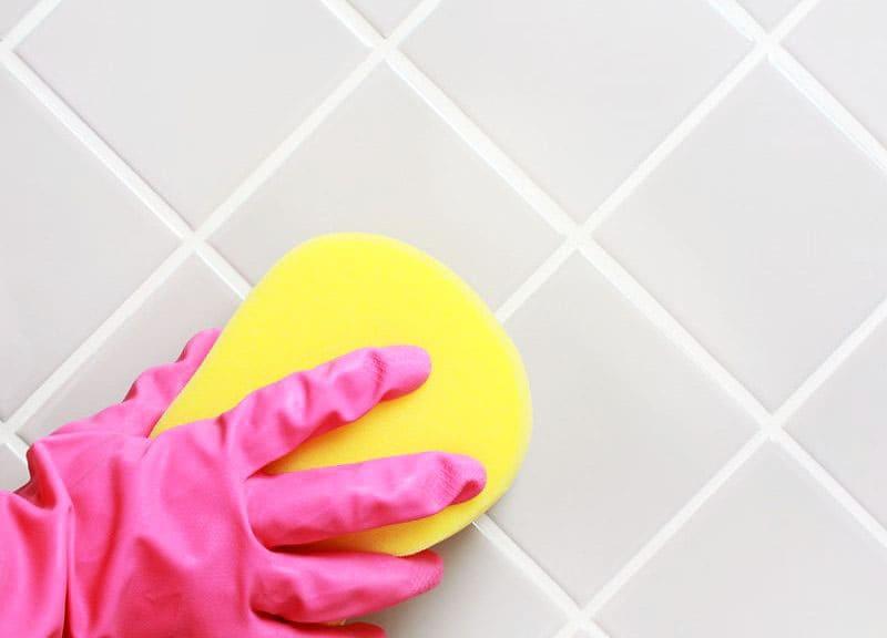 Как отбелить швы между плитками
