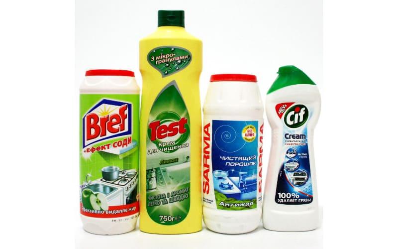 Очистка специальными средствами
