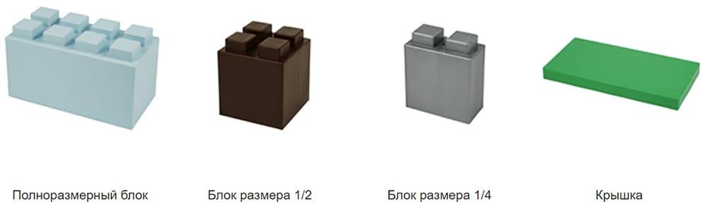 На сегодняшний день производитель выпускает только 4 вида модулей