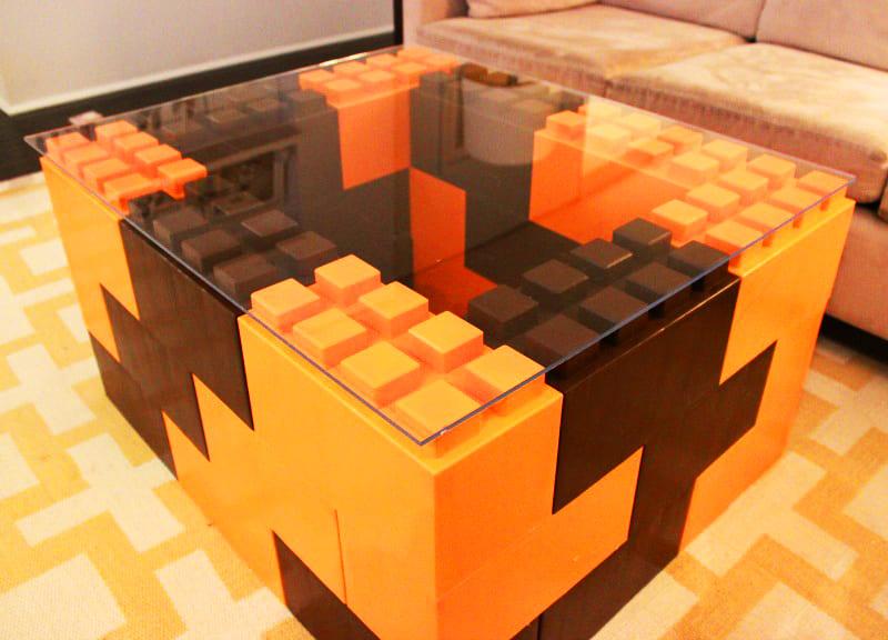 С помощью лего-блоков можно создавать уникальные арт-объекты