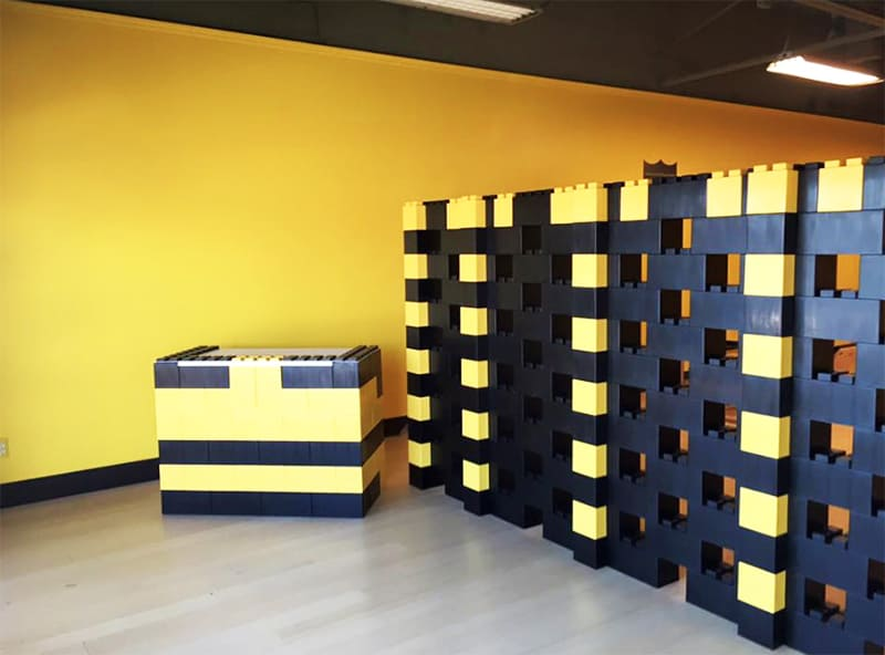 Вариант дизайна выставочного павильона