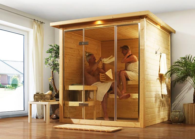 В домашней мини-сауне можно попариться в любое удобное время, не выходя из дома