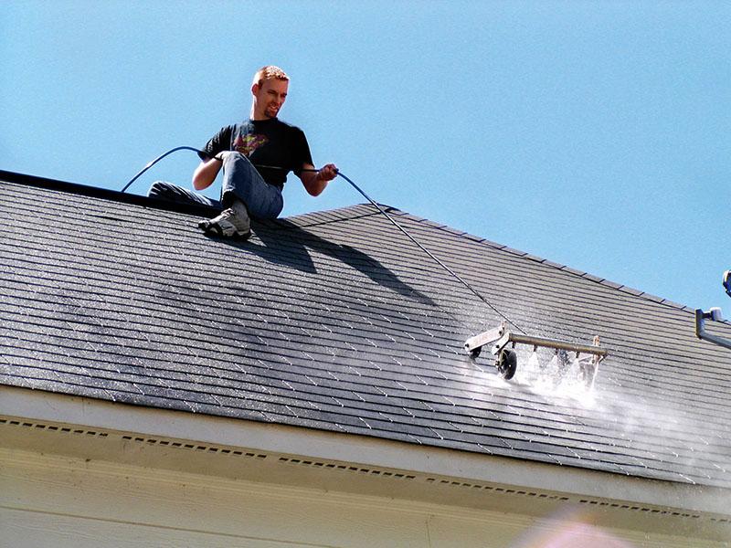 Моющие жидкости для крыши