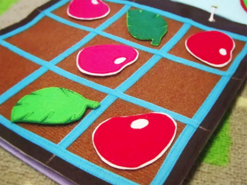 Фетр – универсальный материал для детских настольных игр