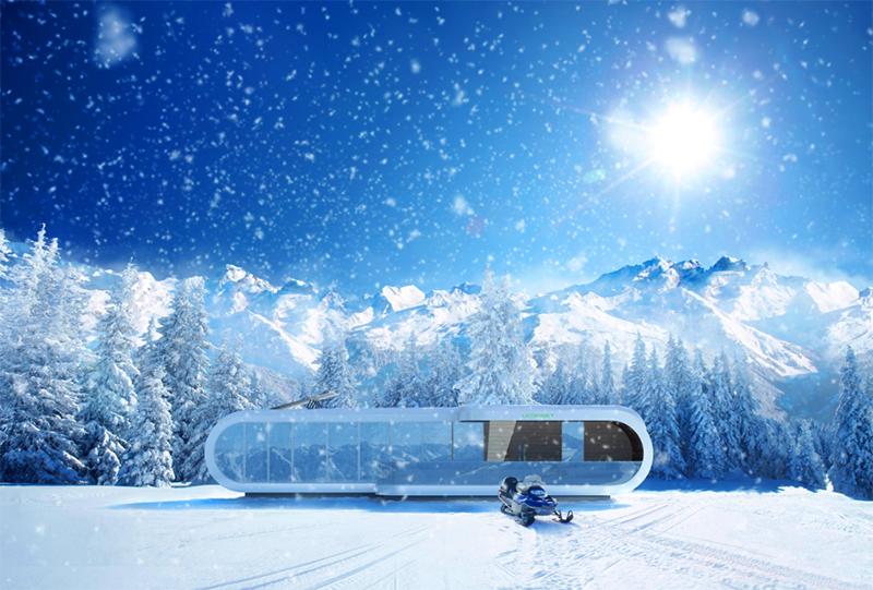 Идеальный зимний отдых в горах