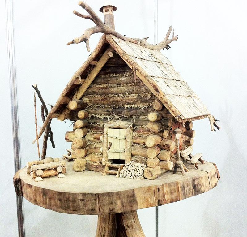 Домик из дерева для детей своими руками поделка