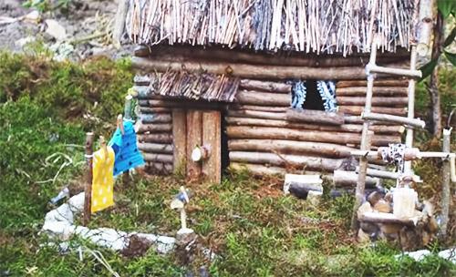 Мастер-классы по изготовлению поделки «Декоративный домик» из природных материалов