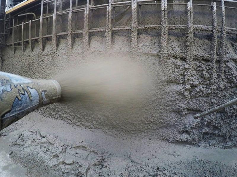 По идее, токопроводящий бетон Shot Crete можно было бы напылять на стены