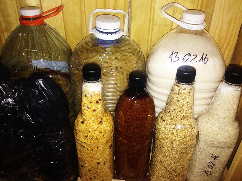 Бюджетным вариантом может стать обычная пластиковая бутылка