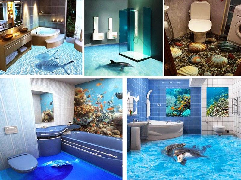 Чаще всего хозяева квартир предпочитают морскую тематику