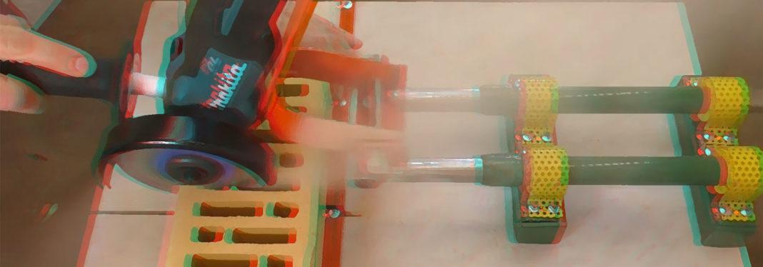 Торцевая пила из детали велосипеда своими руками