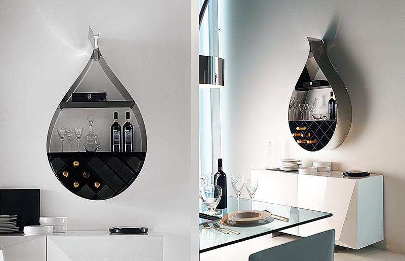 Настенный шкаф можно компактно разместить при ограниченной площади помещения