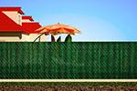 Копеечный забор без опор для сада – срок эксплуатации 50 лет и более