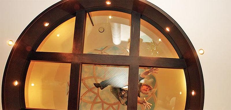Воздушный замок Алексея Глызина и нестандартные дизайнерские идеи