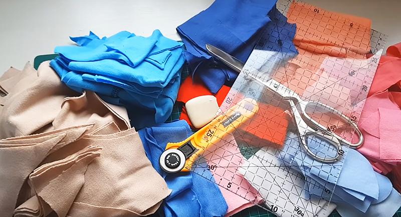 Что делать с остатками ткани