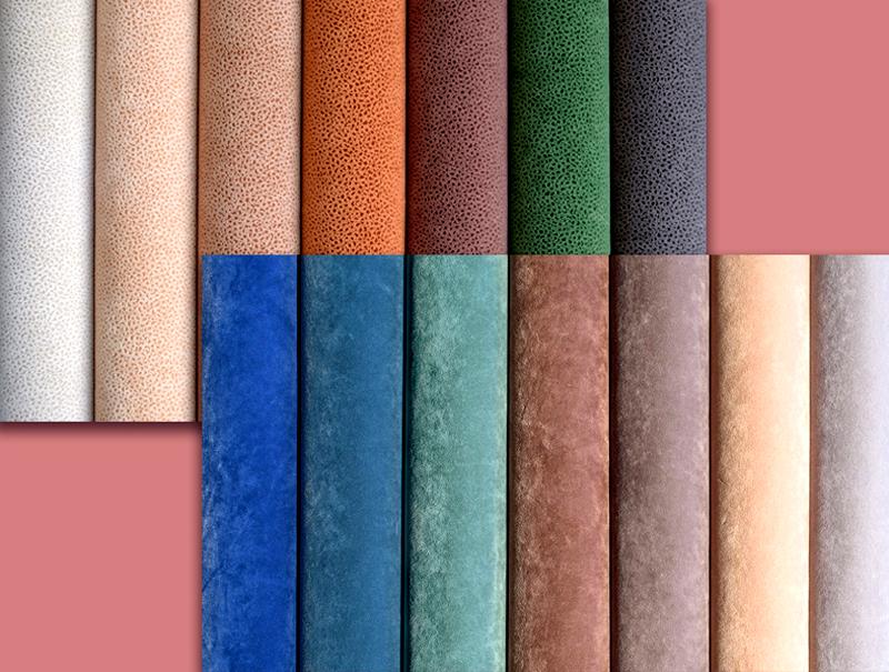 Мягкость ткани зависит от размера ворсинок и плотности их приклеивания