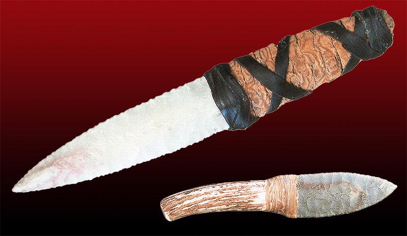 Древние металлические ножи