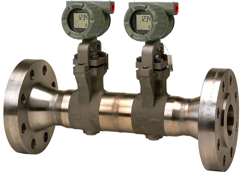 Одна из моделей вихревых счётчиков газа