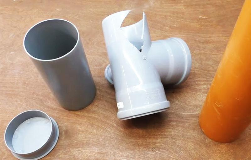 Элементы сантехники, необходимые для изготовления