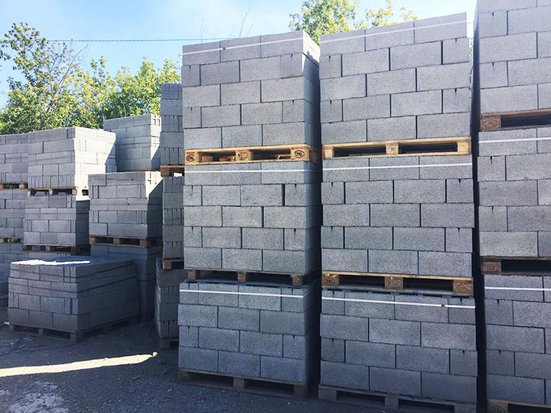 Надёжный производитель виден по способу упаковки керамзитобетонных блоков