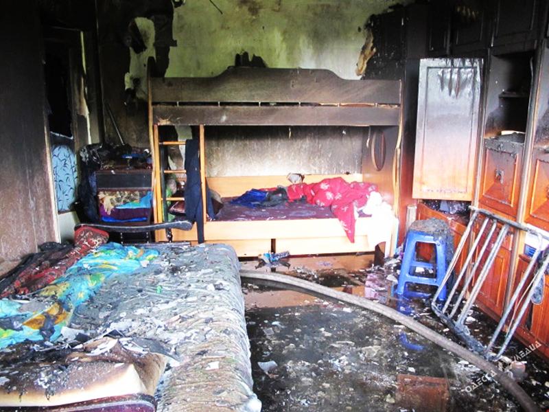Последствия пожара бывают весьма плачевны