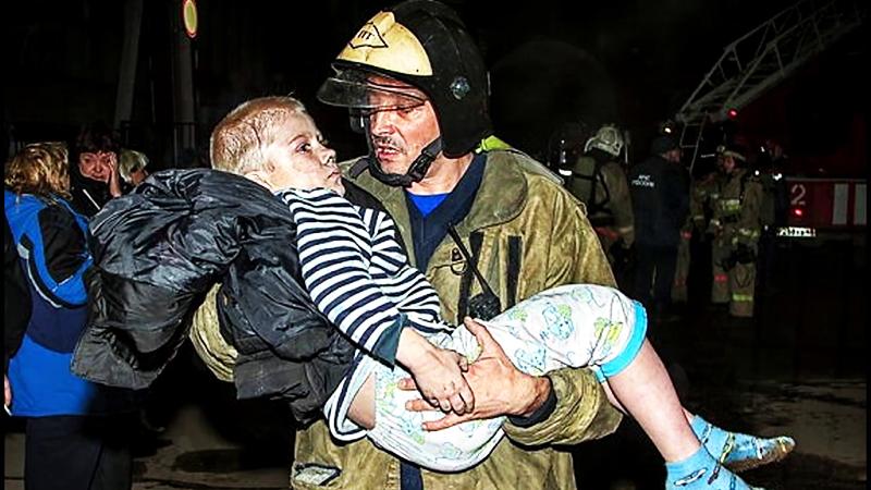 Спасённая из пожара жизнь человека – уже бесценный подарок