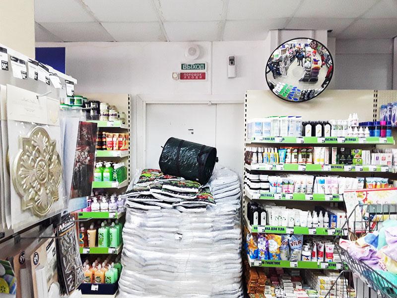 Вот так беспокоятся о нашей безопасности в одном из магазинов крупной сети
