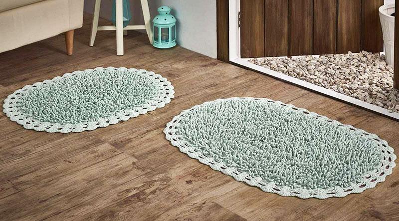 Можно выбрать коврик с необычными деталями