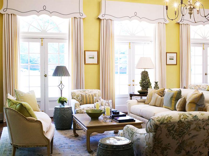 При выборе варианта оформления окна учитывайте стиль помещения