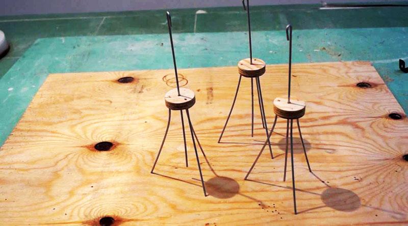 Некоторые изготавливают реперные маяки своими руками