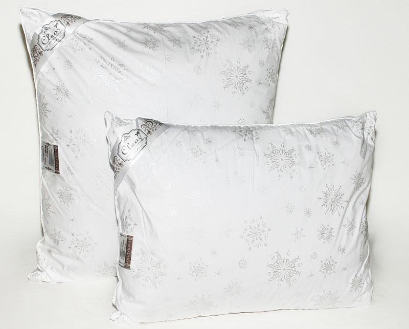 В продаже имеются подушки, в которых волокно из лебяжьего пуха составляет среднюю прослойку, а верхний и нижний слои сделаны из трав или морских водорослей