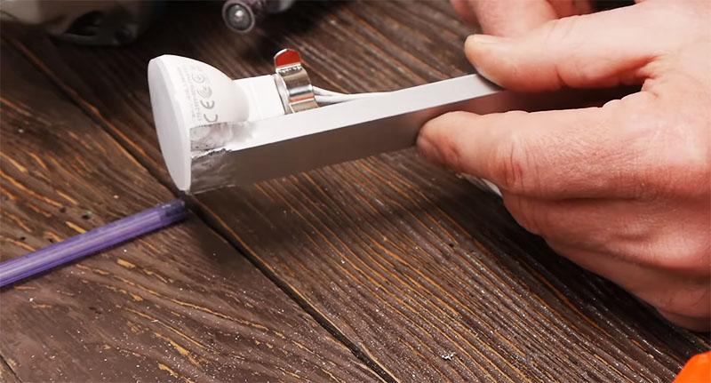 Алюминиевый профиль будет играть роль радиатора