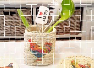 Органайзер для кухни из пластиковой бутылки